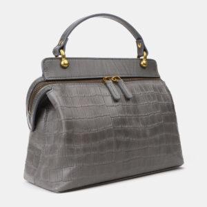 Удобная серая женская сумка ATS-4193 237258