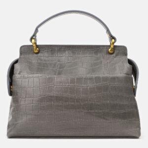 Удобная серая женская сумка ATS-4193 237259