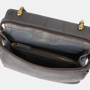 Удобная серая женская сумка ATS-4193 237261