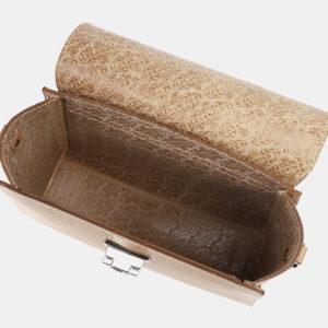 Вместительная бежевая женская сумка ATS-4196 237246
