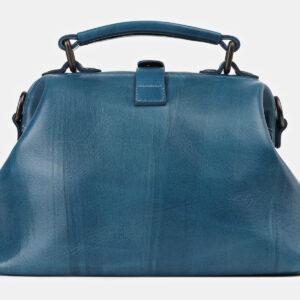 Деловая зеленовато-голубая сумка с росписью ATS-4178 237229