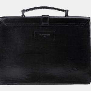 Стильный черный портфель с росписью ATS-4201 237356