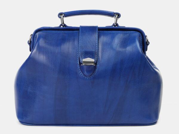 Уникальная голубовато-синяя женская сумка ATS-4205
