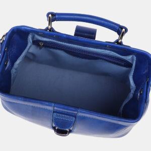 Уникальная голубовато-синяя женская сумка ATS-4205 237342