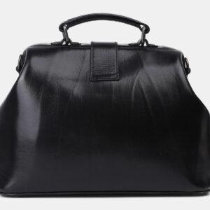 Удобная черная сумка с росписью ATS-4204 237346
