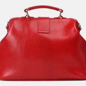 Кожаная красная сумка с росписью ATS-4206 237336
