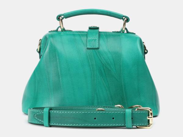 Деловая зеленая женская сумка ATS-4208