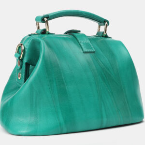 Деловая зеленая женская сумка ATS-4208 237324
