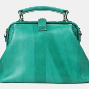 Деловая зеленая женская сумка ATS-4208 237326