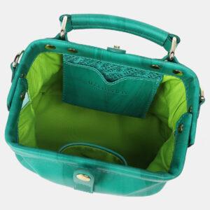 Деловая зеленая женская сумка ATS-4208 237327