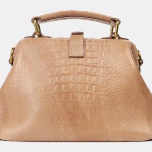 Функциональная бежевая женская сумка ATS-4207 237331