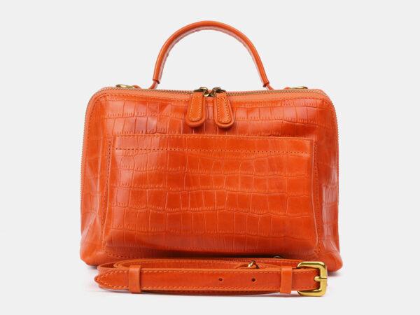 Уникальная оранжевая женская сумка ATS-4213