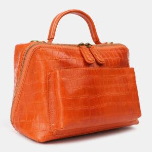 Уникальная оранжевая женская сумка ATS-4213 237304