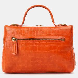 Уникальная оранжевая женская сумка ATS-4213 237305