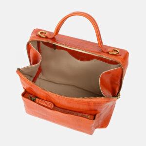 Уникальная оранжевая женская сумка ATS-4213 237307