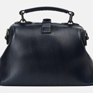 Деловая черная сумка с росписью ATS-4163 237052