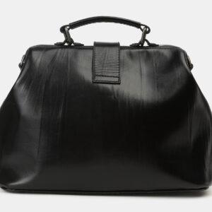 Вместительная черная сумка с росписью ATS-4165 237042