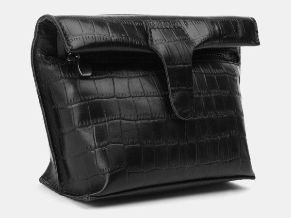 Неповторимый черный женский клатч ATS-4157