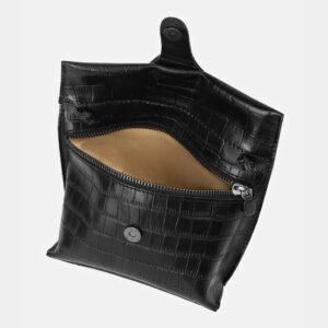 Неповторимый черный женский клатч ATS-4157 237079