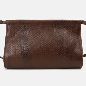 Функциональный коричневый женский клатч ATS-4159 237067