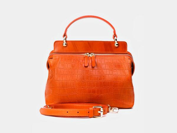 Уникальная оранжевая женская сумка ATS-3364