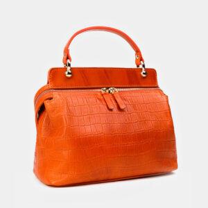Уникальная оранжевая женская сумка ATS-3364 237596
