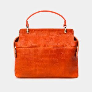 Уникальная оранжевая женская сумка ATS-3364 237597