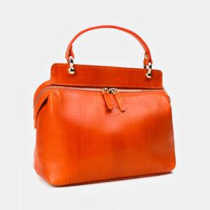 Функциональная оранжевая женская сумка ATS-3365 237591