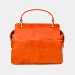Функциональная оранжевая женская сумка ATS-3365 237592