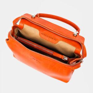 Функциональная оранжевая женская сумка ATS-3365 237593