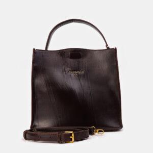 Стильная коричневая женская сумка ATS-3415
