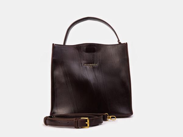 Модная коричневая женская сумка ATS-3415