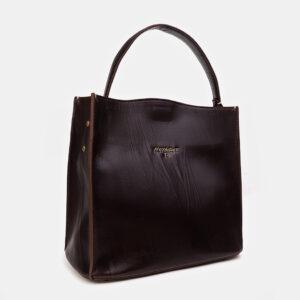Модная коричневая женская сумка ATS-3415 237586