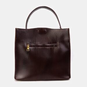 Модная коричневая женская сумка ATS-3415 237587