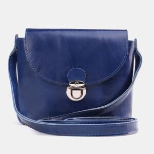Стильный голубовато-синий женский клатч ATS-3760