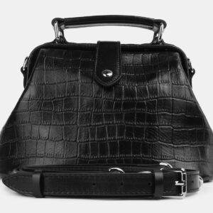 Стильная черная женская сумка ATS-4217