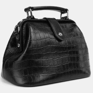 Стильная черная женская сумка ATS-4217 237499