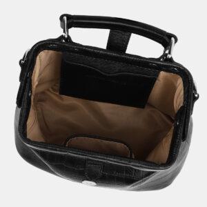 Стильная черная женская сумка ATS-4217 237501