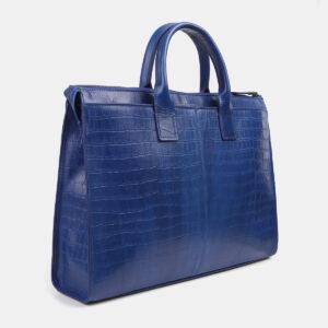 Вместительный голубовато-синий мужской портфель ATS-4244 237529