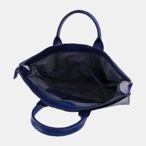 Вместительный голубовато-синий мужской портфель ATS-4244 237532