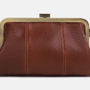 Солидный светло-коричневый женский клатч ATS-4249 237510