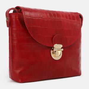 Деловой красный женский клатч ATS-4252 237561