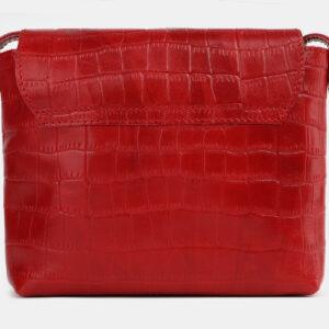 Деловой красный женский клатч ATS-4252 237562