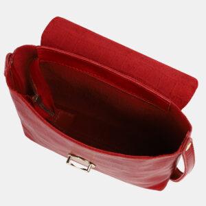 Деловой красный женский клатч ATS-4252 237563