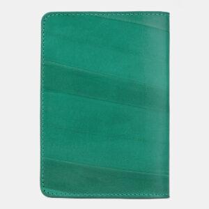 Солидная зеленая обложка для паспорта ATS-4256 237554