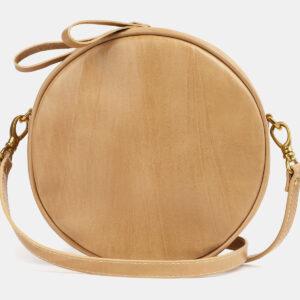 Модная бежевая женская сумка ATS-4259