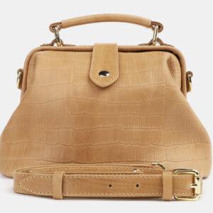 Модная бежевая женская сумка ATS-4260