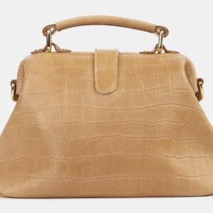 Удобная бежевая женская сумка ATS-4260 237623