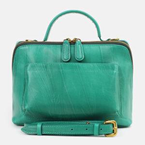 Удобная зеленая женская сумка ATS-4261