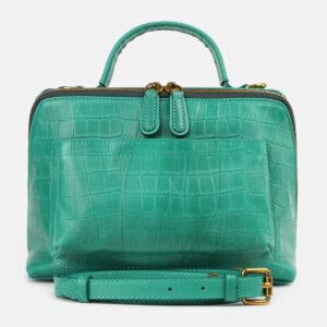 Стильная зеленая женская сумка ATS-4263